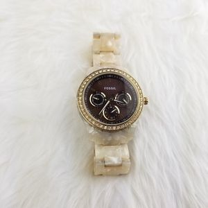 Used Fossil watch, battery included